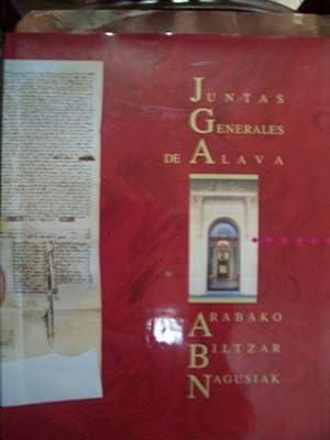 JUNTAS GENERALES DE ÁLAVA. PASADO Y PRESENTE: VV.AA.