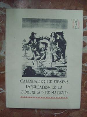 CALENDARIO DE FIESTAS POPULARES DE LA COMUNIDAD: González Casarrubios, Consolación,