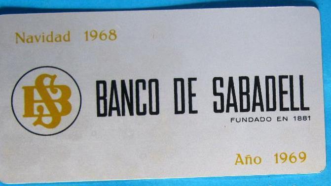 Calendario Del Ano 1969.Almanaque Calendario De Aluminio Para 1969