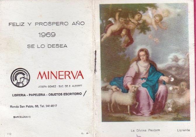 Calendario Del Ano 1969.Calendario Almanaque Para 1969 Regalo De