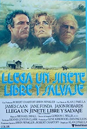 LLEGA UN JINETE LIBRE Y SALVAJE. JAMES CAAN, JANE FONDA. CB FILMS. UNITED ARTISTS. LOBBY CARD (Ci...