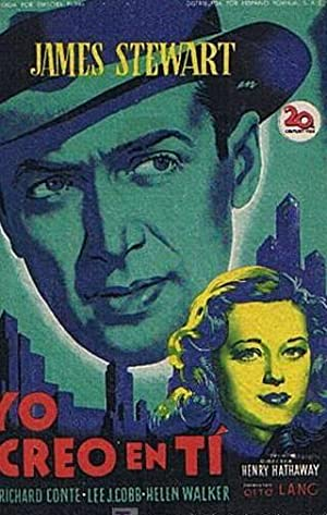 YO CREO EN TI. CINE ESLAVA BARCELONA. JAMES STEWART, LEE J. COBB. SOLIGO (Cine/Folletos de Mano)