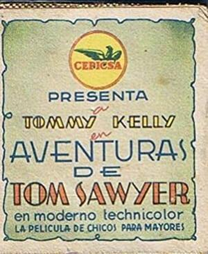 AVENTURAS DE TOM SAWYER. TOMMY KELLY. CEPICSA. FOLLETO DESPLEGABLE (Cine/Folletos de Mano/Aventura)