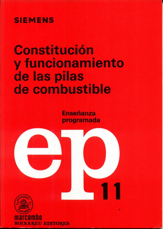 Constitucion y Funcionamento de las Pilas de Combustible - WEIDLICH