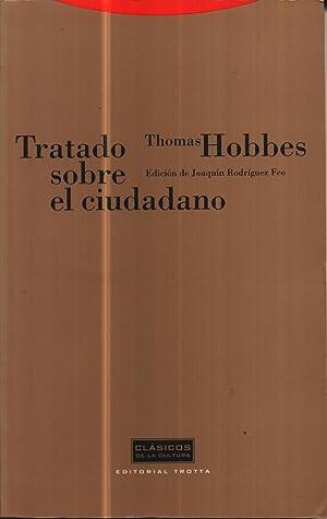 Tratado Sobre el Ciudadano: Hobbes, Thomas