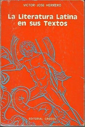 La literatura latina en sus textos: Herrero, V. J.