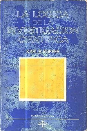 La Logica De La Investigacion Cientifica: Popper, Karl R.