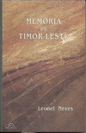 Memoria de Timor Leste: NEVES, Leonel