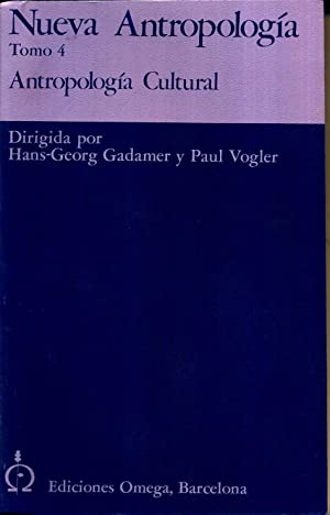 Antropologia Cultural: GADAMER VOGEL