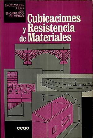 Cubicaciones y Resistencia de Materiales: C.E.A.C.