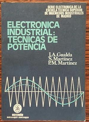 Electronica Industrial Tecnicas de Potencia: GUALDA Y OTROS
