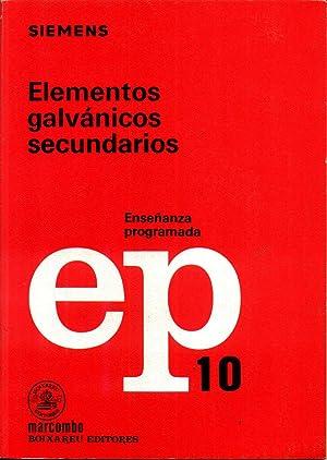 Elementos Galvanicos Secundarios: WEHNER