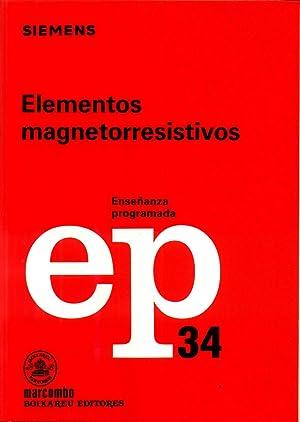 Elementos Magnetorresistivos: STEIDLE