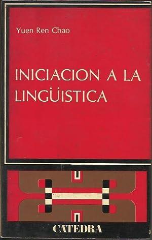 Iniciacion a la Linguistica: CHAO