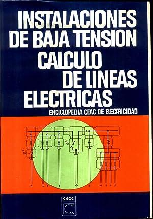 Instalaciones de Baja Tension Calculo de Lineas: RAMIREZ