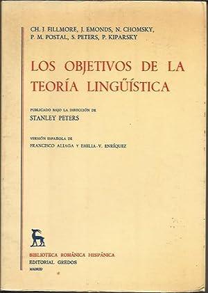 Los Objetivos de la Teoria Linguistica: PETERS