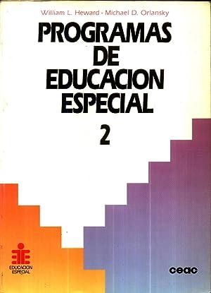 Programas de Educacion Especial: HEWARD