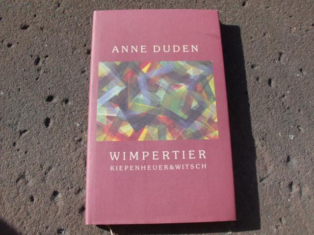Wimpertier. Erstausgabe: Duden, Anne