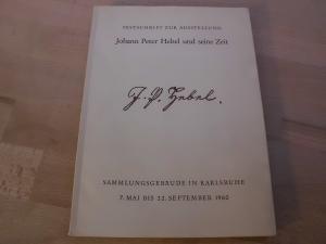 Ausstellung: Johann Peter Hebel und seine Zeit.: Zentner, Wilhelm