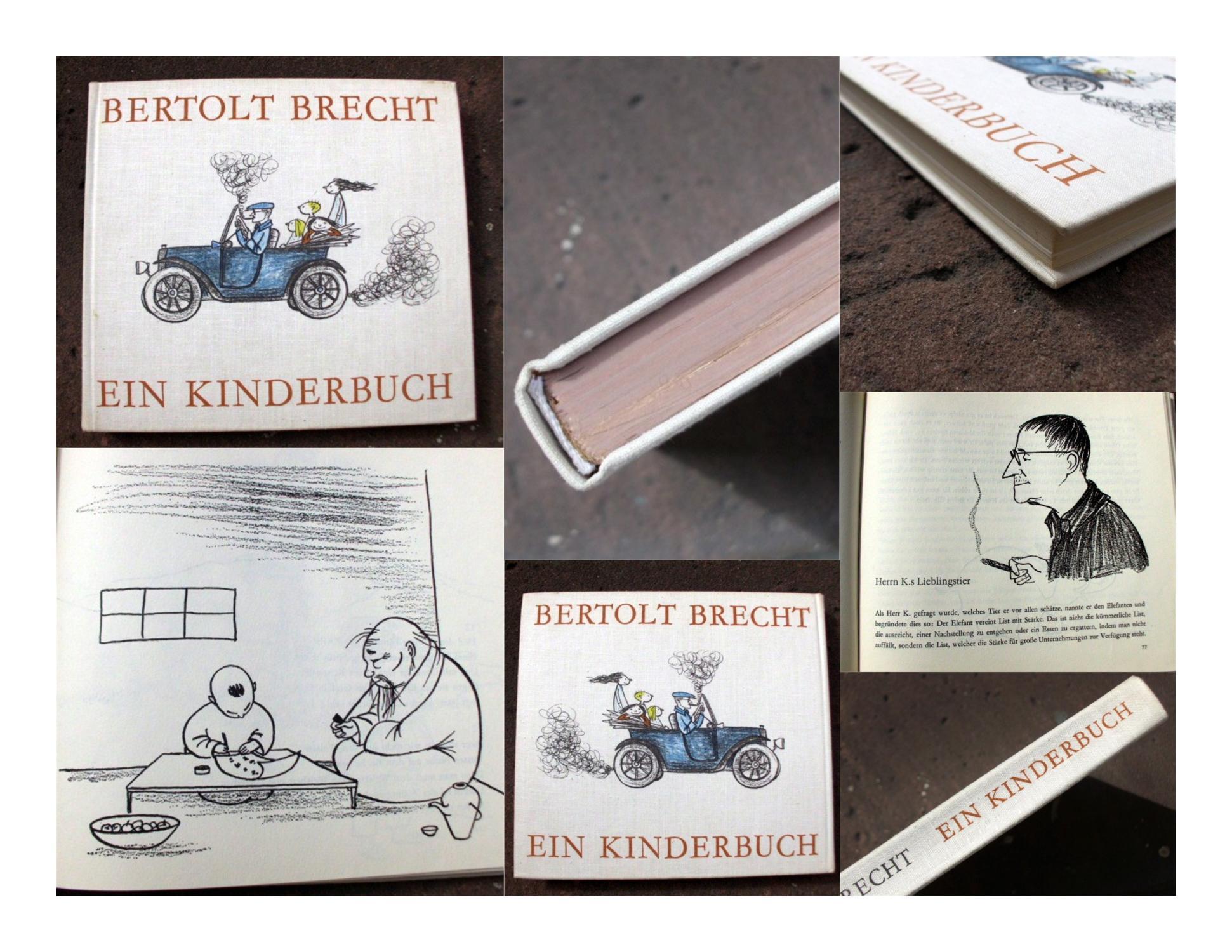 Ein Kinderbuch. Ausgewählt und zusammengestellt von Rosemarie: Brecht, Bertolt