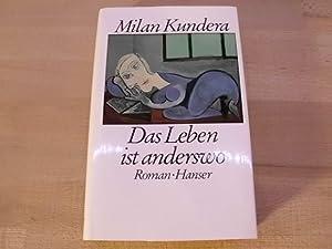 Das Leben ist anderswo. Roman. Mit einem: Kundera, Milan