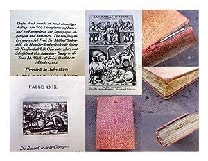 Les Fables d' Esope Phrygien. Illustrées de: Äsop; Baudoin, J.