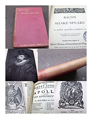 Bacon is Shake-Speare. Together with a reprint: Durning-Lawrence, Edwin Sir