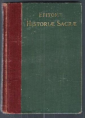 Epitome Historiae Sacrae, Auctore Lhomond (Latin): Wilby, Stephen W.