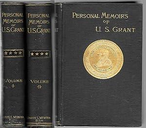 Personal Memoirs of U. S. Grant, Vols.: Grant, Ulysses S.