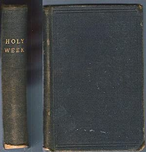 The Office of Holy Week with the: Mazzinelli, Alexander, trans.