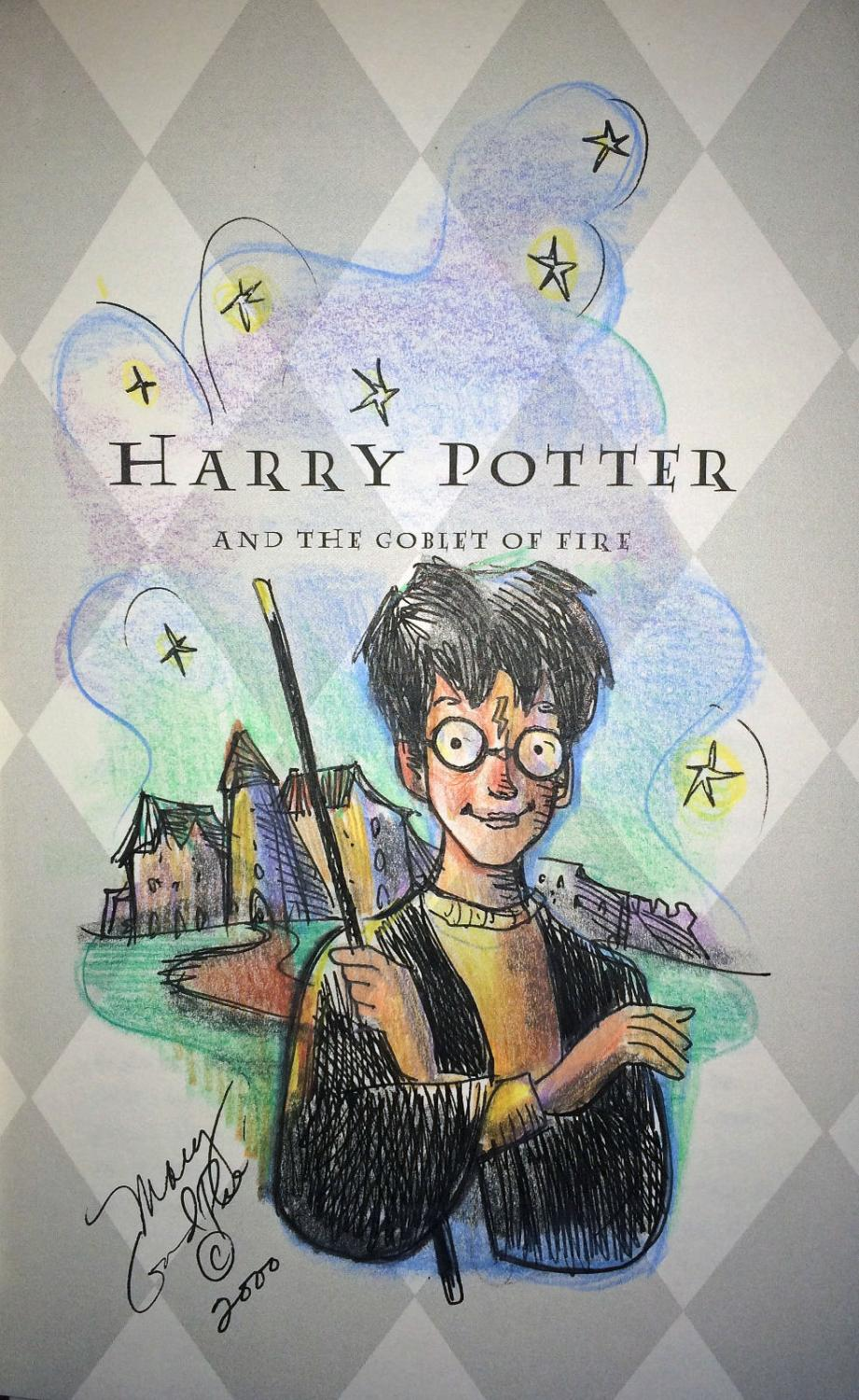 Harry Potter Book Quizzes Scholastic ~ Harry potter and the goblet of fire by rowling j k