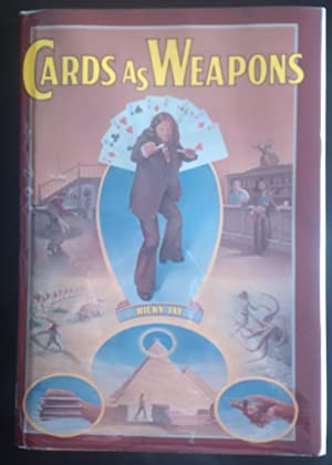 Cards as Weapons. (SIGNED Association Copy + Letter)