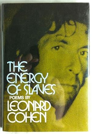 The Energy of Slaves (INSCRIBED Association Copy).: Cohen, Leonard