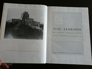 Eliel Saarinen (SIGNED, NUMBERED LIMITED EDITION): Christ-Janer, Albert (Eliel Saarinen)