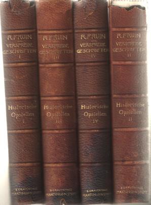 Robert Fruin's verspreide geschriften. Met aanteekeningen, toevoegsels en verbeteringen uit ...