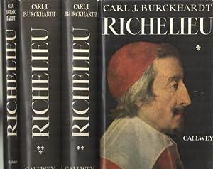 Richelieu. Teil I: Der Aufstieg der Macht. Teil II: Behauptung der Macht und kalter Krieg. Teil III...