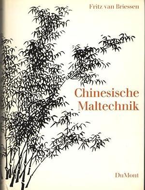 Chinesische Maltechnik: Briessen, Fritz van