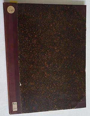 Chronik für vervielfältigende Kunst. Erster Jahrgang 1888 (8 nrs.) IV Jahrgang 1991 (9 ...