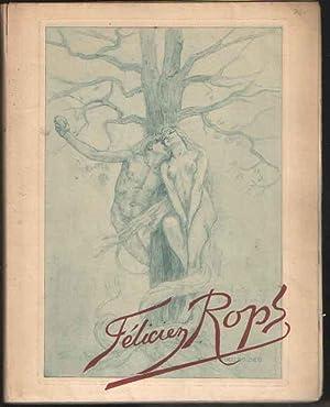 Etudes sur quelques artistes originaux Félicien Rops: Ramiro, Érastène