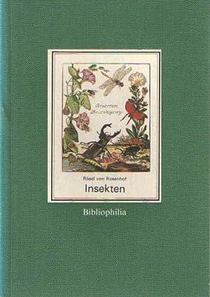 Insekten. Insecten-Belustigung (1746-1761). Voorzien van de moderne: Rösel von Rosenhof,
