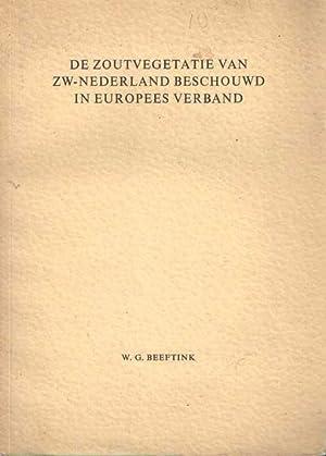 De zoutvegetatie van ZW-Nederland beschouwd in Europees verband: Beeftink, W.G.