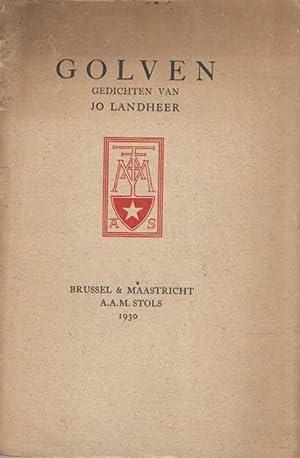 Golven, gedichten van Jo Landheer: Landheer, Jo