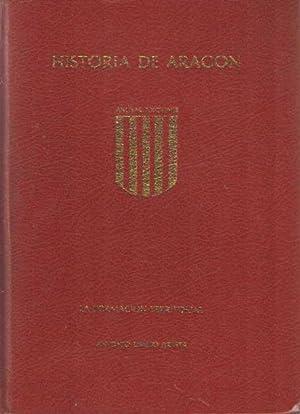 Historia de Aragon. La formacion territorial. Primer: Ubieto Arteta, Antonio
