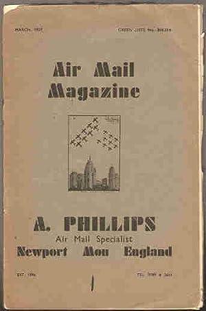 Air Mail Magazine )march, may, june, july, aigust, september, october, november, december 1939): ...
