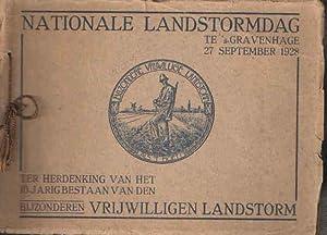Nationale landstormdag te 's-Gravenhage 27 september 1928.