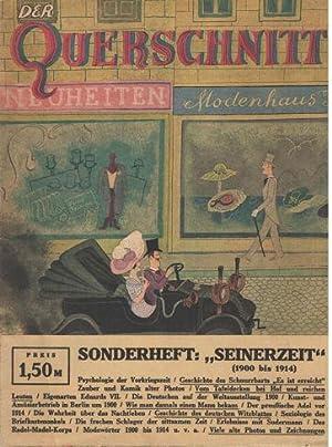 Der Querschnitt. XIII Jahrgang August 1933