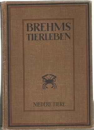 Brehms Tierleben. Allgemeine Kunde des Tierreichs. Mit 3231 schwarzen Abbildungen im Text und auf ...