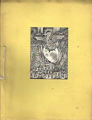 Parade der profeten. Literair tijdschrift. No 12-13 Maart-April 1945. Poëzie nummer deel II