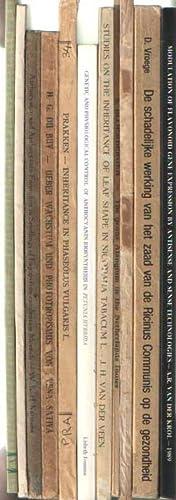 10 botanical thesis: C.M.Th. Sluiters-Scholten: Synthese van: Div. thesis