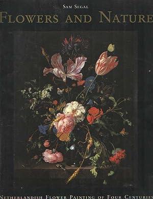 Flowers and nature. Netherlandish flower painting of: Segal, Sam